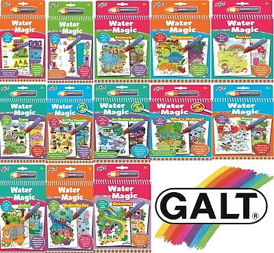 Galt Toys WATER MAGIC Reusable Pads & Colouring Books -✅FAST & FREE DISPATCH✅ • 6.84£