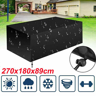 £25.99 • Buy Large Waterproof Furniture Cover Outdoor Garden Patio Table Chair Set Protector