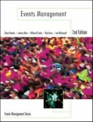 £3.66 • Buy Events Management Series: Events Management By Glenn Bowdin (Paperback)