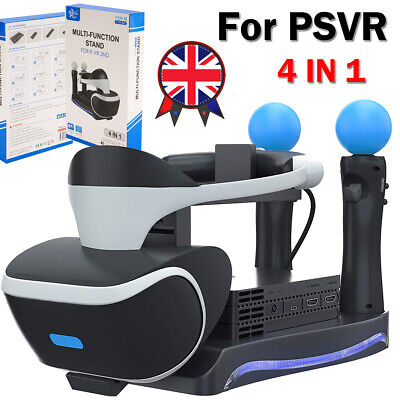 Dual Charger Dock For PS3 / PS4 VR Motion Controller Playstation Move Controller • 7.88£