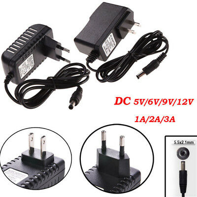 $ CDN3.75 • Buy Power Supply Adapter Transformer LED Strips 1A 2A 3A DC 5V 6V 9V 12V AC110 220V