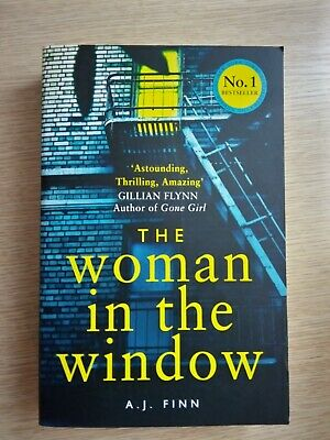 AU25 • Buy The Woman In The Window By A J Finn (2019, Paperback)