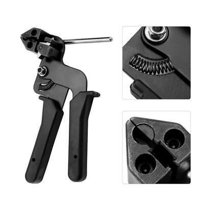 £22.99 • Buy Stainless Steel Cable Tie Fasten Gun Pliers Crimper Tensioner Cutting