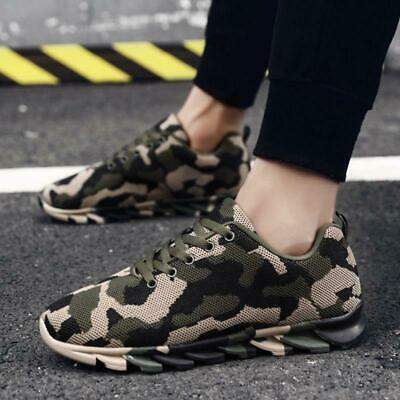 £30.77 • Buy Men Camouflage Running Shoes Breathable Athletic Sports Sneakers Outdoor Fashion