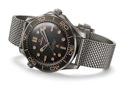 Ultimate Mesh Watch Bracelet/band/strap Omega Seamaster 300m Bond 007 Edition • 34.99£
