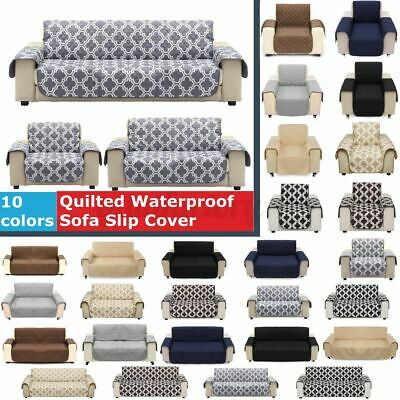 £13.99 • Buy 1/2/3 Seater Waterproof Sofa Slip Cover Pet Dog Furniture Couch Protector Throw
