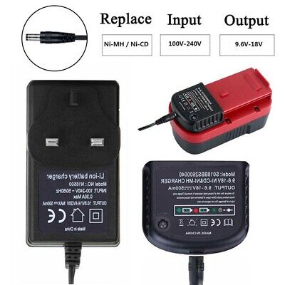 Charger For Black Decker 1.2V-18V A1712 A1718 A12 A18 Ni-MH Ni-CD Battery W6Y7 • 14.03£