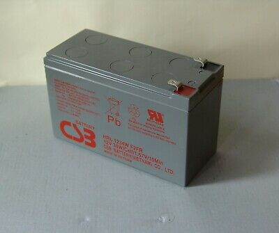 AU26.90 • Buy CSB Greeneco 12V AGM SLA Battery 12V 7Ah 7.2ah - APC High Rate UPS NBN Alarm
