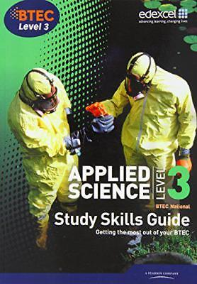 £19.58 • Buy Applied Science, BTEC National: Level 3, Study Skills Guide By , NEW Book, FREE