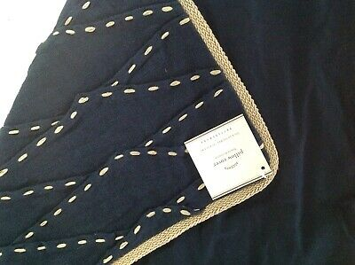 $39.95 • Buy NIP Pottery Barn Navy Nautical  Linen Pillow Cover 20  New