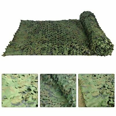 Large Size Fabric Camouflage Net Army Hide Hunting Shooting Camping Cover Sheets • 16.99£
