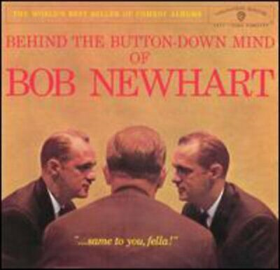 Bob Newhart : Behind The Button-Down... CD Highly Rated EBay Seller Great Prices • 3.65£
