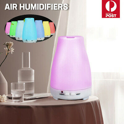 AU23.59 • Buy LED Diffuser Essential Oil Humidifier Ultrasonic Aroma Aromatherapy Air Purifier