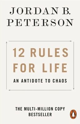 AU20.60 • Buy 12 Rules For Life An Antidote To Chaos By Jordan B. Peterson 9780141988511