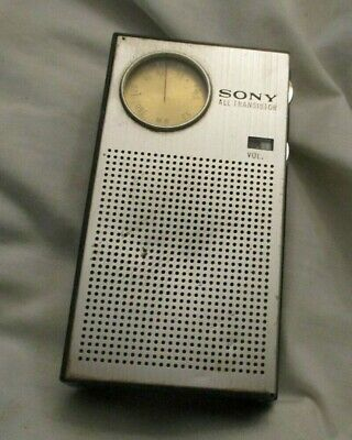 $19 • Buy Vintage Transistor Radio Sony Model 1 R-1811 Tested Working
