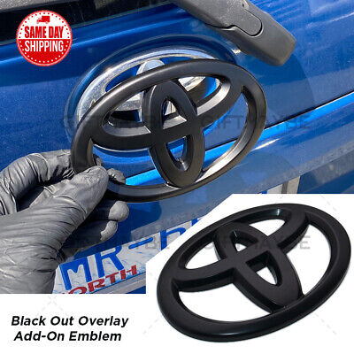 $14.99 • Buy Toyota Camry 4Runner Corolla Matrix RAV4 Sienna Trunk Lid Overlay Add-On Emblem