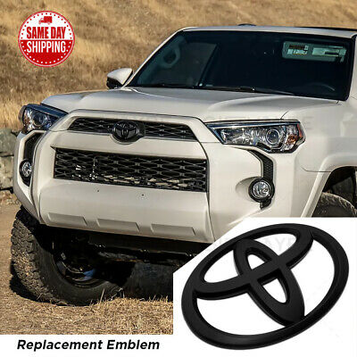 $14.99 • Buy For Toyota 4Runner Camry Prius C Black Front Grille Bumper Replace Logo Emblem