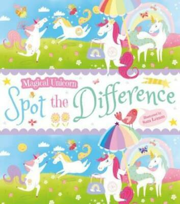 £2.49 • Buy Magical Unicorn Spot The Difference Activity Book By Sam Loman (Paperback /