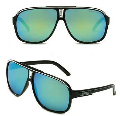 AU16.59 • Buy New Carrera Men's Ruthenium Pilot Sunglasses  Gradient Lens Eye Glasses +Box