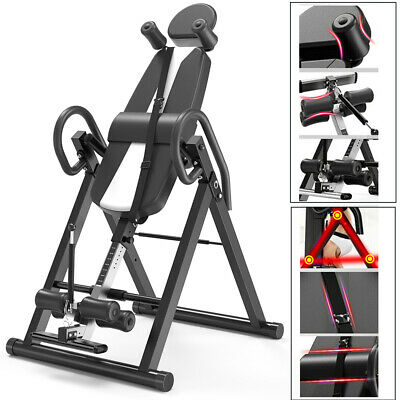£125.50 • Buy Folding Inversion Table Invert Align Therapy Bench Reduce Back/neck Pain Adult