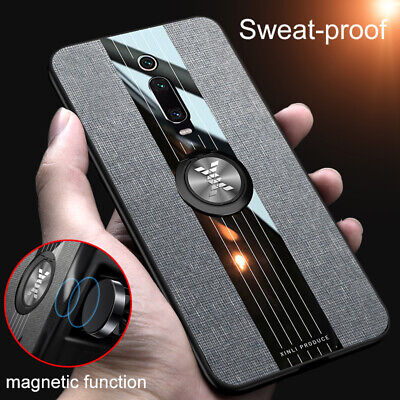 For Xiaomi Mi 10 9 9T Pro 8 A2 A3 Lite Magnetic Ring Holder Case Slim Back Cover • 3.99£