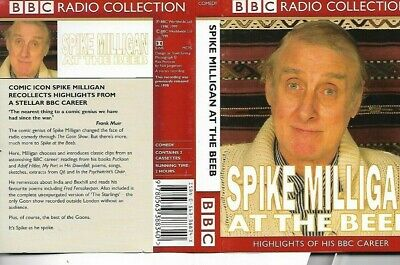 SPIKE MILLIGAN At The Beeb - Double Cassette - Audio Comedy  • 3.99£