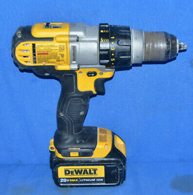 $79.95 • Buy DeWALT DCD985 20V Volt Max 1/2  3 Speed Hammer Drill Driver Li-ion