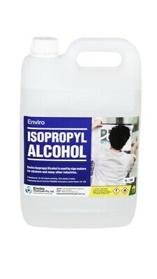 AU114 • Buy Isopropyl Alcohol 100% IPA Isopropanol 5L 5 Litre  Cleaner