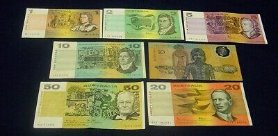 AU195 • Buy $1 To $50 Australian Paper Banknote Selection + 1988 $10 Polymer Note.