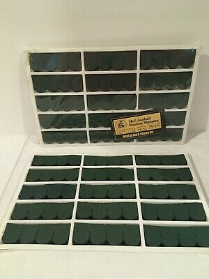 $15 • Buy Dollhouse Roof Shingles Green. 149 Pc
