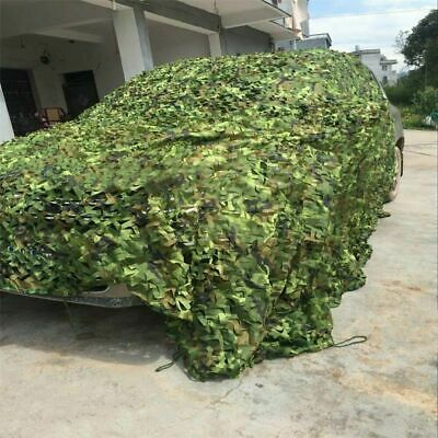 £10.99 • Buy 4-10M Heavy Duty Army Camouflage Net Camo Netting Covers Outdoor Woodland Hiding