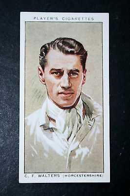 Worcestershire CCC   Walters    Vintage Cricketer Card   VGC • 2.50£