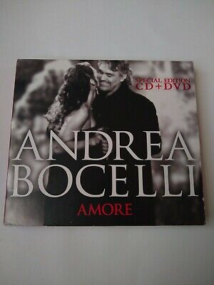 $44.99 • Buy ANDREA BOCELLI SIGNED Amore CD + DVD AUTOGRAPHED Special EDITION