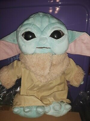 $19.99 • Buy NEW STYLE Mandalorian Baby Yoda Plush 13   VERY Cuddly!  FAST Shipping From US