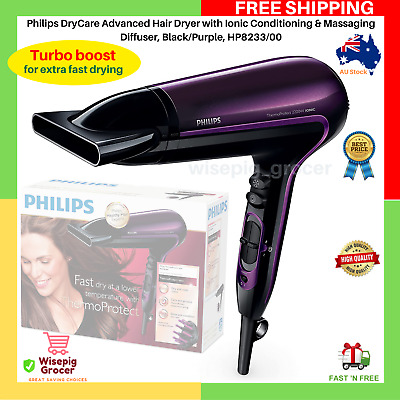 AU49.99 • Buy Philips HP8233 2200W Professional Ionic Hair Dryer ThermoProtect Cool Shoot NEW