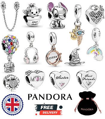 PANDORA Family Friends Charm Sister Disney Harry Potter Sterling Silver S925 ALE • 17.99£