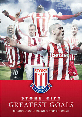 Stoke City: Greatest Goals DVD (2013) Stoke City FC Cert E Fast And FREE P & P • 39.99£