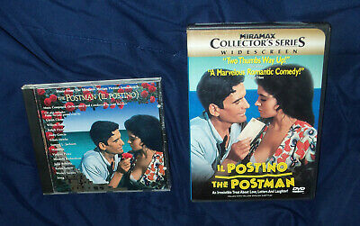 Il Postino Aka The Postman DVD - With Chapter Insert + Rare CD Soundtrack • 32.19£