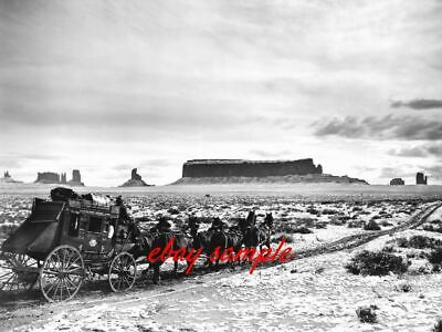 $7.49 • Buy MONUMENT VALLEY PHOTO From The 1939 JOHN WAYNE Movie STAGECOACH