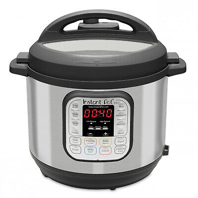 $107.94 • Buy Pressure Cooker Instant Pot 6-Quart 7-in-1 Multi-Use Programmable, Slow Cooker