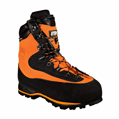 STEIN ENIGMA D30 Chainsaw Boots In Orange - Various Sizes Available • 149£