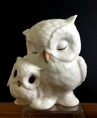 Vintage Royal Osborne Bone China Mother & Chick Owl Figurine Model 1405 • 4.99£