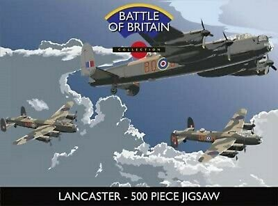 Lancaster Battle Of Britain Collection 500 Piece Jigsaw • 10.99£