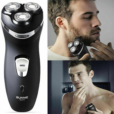 £22.99 • Buy Mens Trimmer Rotary Shaver Cordless Rechargeable Razor Electric Dry Shaving