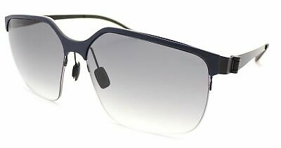 MERCEDES BENZ STYLE Sunglasses Dark Blue-Black/ Smoke Gradient Lenses M1037 D • 44.99£