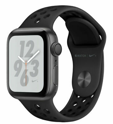$ CDN543.43 • Buy Apple Watch Series 4 Nike+ 40 Mm Space Gray Aluminum Case With...