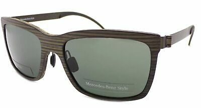 MERCEDES BENZ STYLE Sunglasses Matte Wood Green/ Dark Green Lenses M3019 B • 44.99£