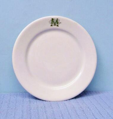 $5 • Buy Vintage Lincoln Fixture & Supply Co 6 1/2  Salad Dessert Plate Mayer China Mint