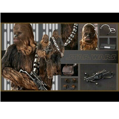 AU445 • Buy Hot Toys Chewbacca MMS262 Star Wars A New Hope 1/6 Action Figure