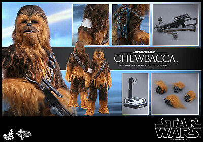 AU595 • Buy Hot Toys Star Wars The Force Awakens Chewbacca MMS 375 1/6 Scale